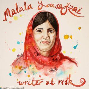 CreativeConnection portrait of Malala Yousefzai