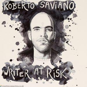 CreativeConnection illustration of Roberto Saviano