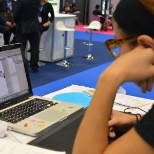 NHS Expo 2016 CreativeConnection Digital Graphic Facilitation Digital Scribing Instant Instagrams