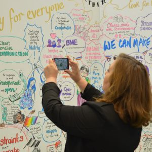 NHS Expo 2016 CreativeConnection Graphic Facilitation