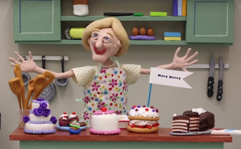 Great British Bake Off Animation CreativeConnection Mary Berry